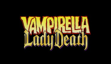 Comics typography vampirella lady death logos HD wallpaper