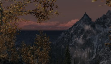 Пейзажи The Elder Scrolls V: Skyrim  HD wallpaper