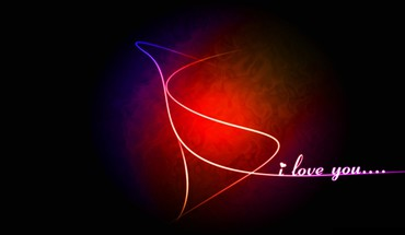 Abstract love i you HD wallpaper