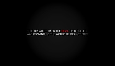 Devil quotes saying HD wallpaper