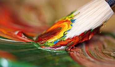 Paintings paint brush brushes brushstrokes HD wallpaper