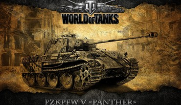 World of tanks pzkpfw 5 panther HD wallpaper