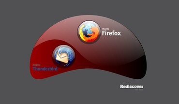 Wand Firefox Webbrowser thunderbird  HD wallpaper
