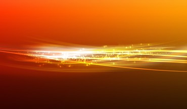 Orange light background HD wallpaper