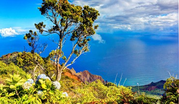 Kalalau valley lookout kauai hawaii HD wallpaper