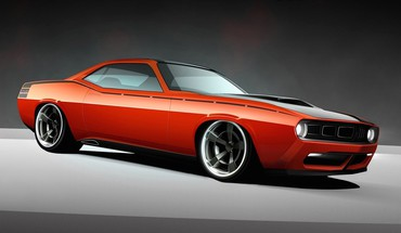 Usa Plymouth Barracuda classique 2010 widescreen cuda  HD wallpaper