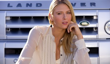 Cars maria sharapova land rover tennis players HD wallpaper