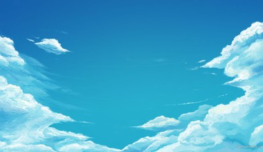 Very cool blue sky HD wallpaper