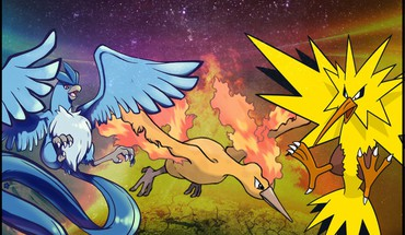 Pokemon zapdos articuno moltres HD wallpaper