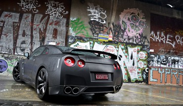Nissan r35 gt-r HD wallpaper