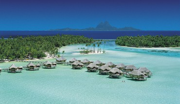 Taha resort tahiti south polynesia HD wallpaper