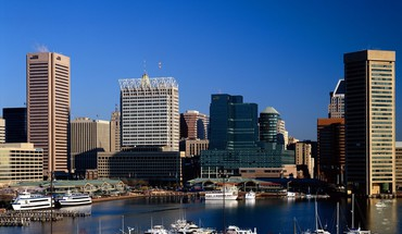 Cityscapes harbor baltimore cities maryland HD wallpaper