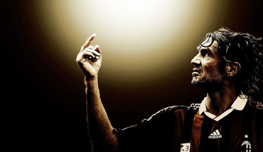 Soccer paolo maldini HD wallpaper