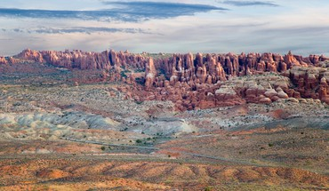 Salt valley arches np utah HD wallpaper