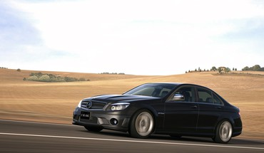 5 PlayStation 3 MERCEDES BENZ C63 AMG  HD wallpaper