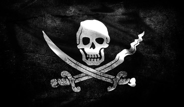 Piratenflagge Schädel  HD wallpaper