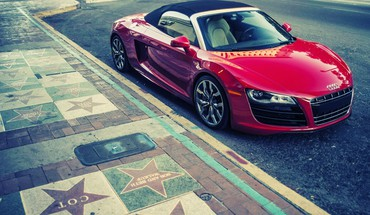 cabriolets Audi R8 V10  HD wallpaper