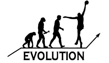 Evolution Basketball-Spieler  HD wallpaper