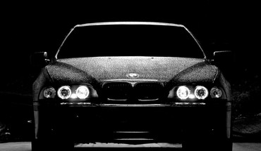 Cars bmw m5 black headlights HD wallpaper