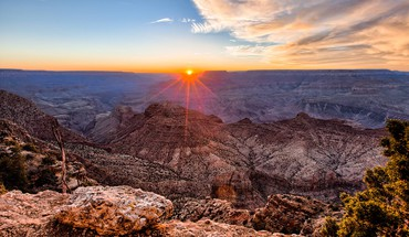Grand canyon sunset HD wallpaper
