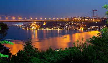 Bosphorus bridge fatih sultan mehmet istanbul turkey bridges HD wallpaper