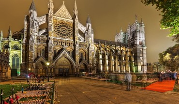 Architecture Londres Westminster soir abbaye  HD wallpaper