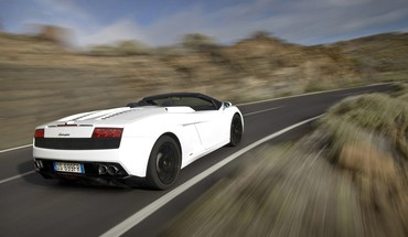 Lamborghini gallardo spyder auto HD wallpaper