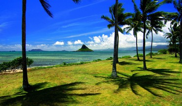 Landscapes nature hawaii five oahu cities HD wallpaper
