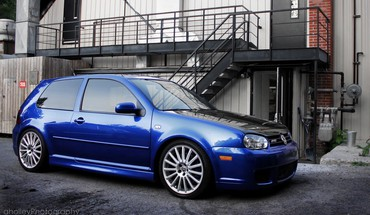 R32 golf HD wallpaper