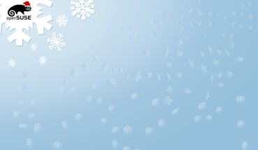 Linux opensuse Vektoren Winter  HD wallpaper