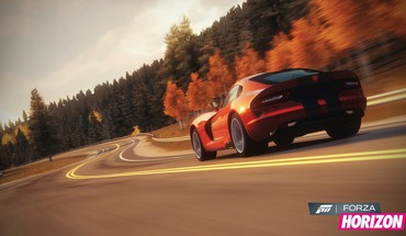 360 dodge viper srt-10 forza horizon 2013 HD wallpaper