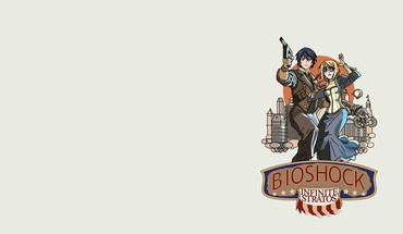 Infinite stratos crossovers bioshock simple background HD wallpaper