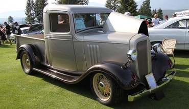 1935 chevy truck HD wallpaper