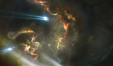 Abstract outer space eve online HD wallpaper