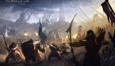 Fantasy art concept the elder scrolls online HD wallpaper