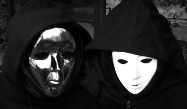 Masks music bands indie electronic golau glau HD wallpaper