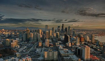 Urbains seattle hdr photographie  HD wallpaper