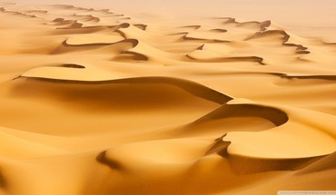 Desert dunes HD wallpaper