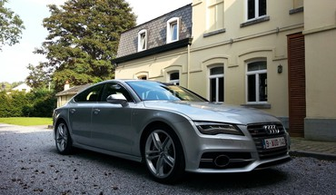Automobiliai Audi S7  HD wallpaper