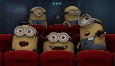 Minions in Kino  HD wallpaper