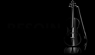 Violins black background HD wallpaper