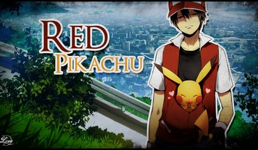 Pokemon raudona Pikachu  HD wallpaper