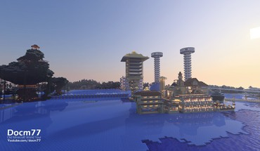 Minecraft maps docm77 HD wallpaper