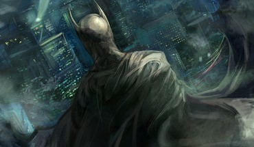 Batman dc comics artwork HD wallpaper