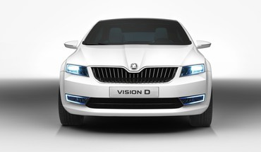 Skoda concept art HD wallpaper