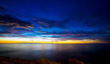 Nature coast dawn australia hdr photography sea HD wallpaper