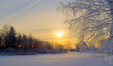 Nature winter HD wallpaper