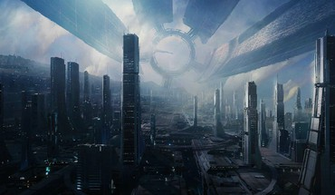 Effect science fiction artwork citadel (mass effect) HD wallpaper