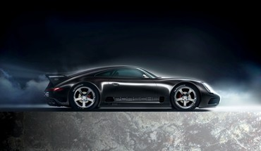 Michelin porsche black cars HD wallpaper