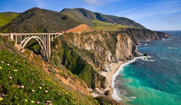 California bridges landscapes HD wallpaper